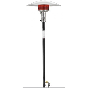 Sunglo PSA265VE 50000 Btu 24-volt NG Post-mount Patio Heater w/ Electronic Ignitition Black