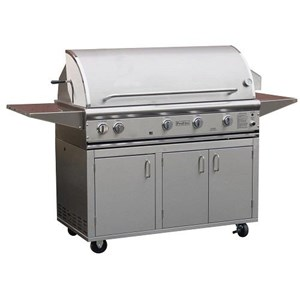 ProFire Professional Deluxe Series 48-Inch Freestanding  Gas Grill - PFDLX48G + PF48SSCBP