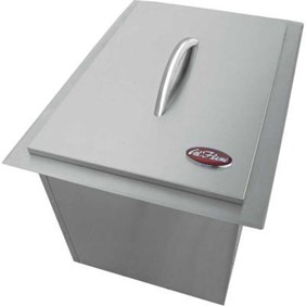 Cal Flame 20-3/4 in. Stainless Steel Drop-In Ice Bucket