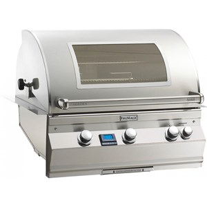 Fire Magic Aurora A660i Built-in Propane Gas Bbq Grill With rotisserie & Magic View Window - A660i-6e1p-w