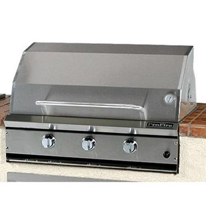 ProFire Professional Series 36-Inch Built-In  Gas Grill With Rotisserie & SearMagic Grids - PFSM36R