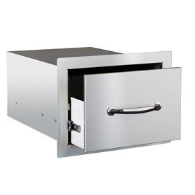 STG Excalibur Premier 14-in. Stainless Steel Single Drawer STGDR-1