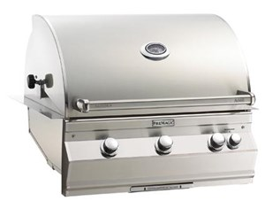 Fire Magic Aurora Built In Gas Grill - Propane Gas, With Rotisserie - A660i-6e1p