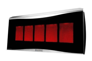 Bromic Heating Platinum 500 Smart-Heat 29-Inch 39,800 BTU  Gas Patio Heater - BH0110003-1