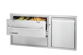 Twin Eagles 42 Inches Warming Drawer Combo  TEWD42C-C