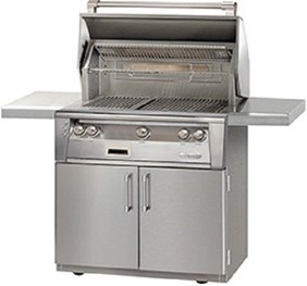 "36"" Alfresco Sear Zone Grill With Cart  -  ALXE36SZC"