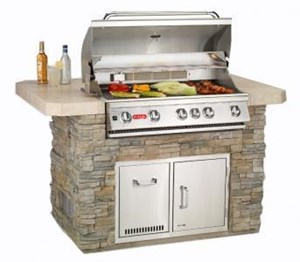 Bull Master Q - Outdoor Island Kitchen 31005