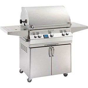 Fire Magic Aurora A540s on Cart Natural Gas Bbq Grill with rotisserie backburner- A540s-6Ean-62
