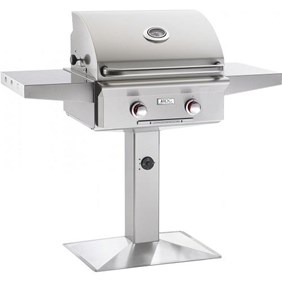 "AMERICAN OUTDOOR GRILL(AOG) 24"" Patio Post Grill #24NPT-00SP ""T"" Series"