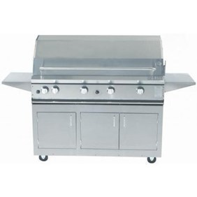 ProFire Professional Series 48-Inch Freestanding  Gas Grill With Rotisserie - PF48R + PF48SSCBP