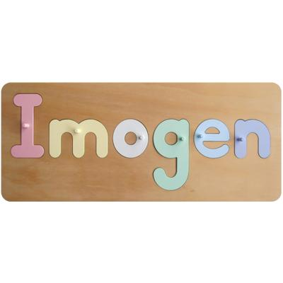 pegged name puzzle wood puzzles