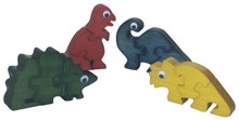 Set of 4 Dinosaur Standing Puzzles
