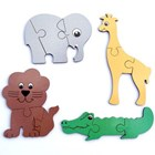 Mini Puzzles - Wild Animals