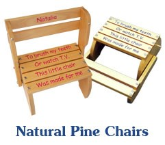 Natural Pine Chairs