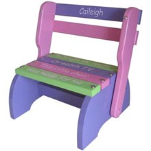 Purple, Pink & Green Kindy Chair
