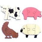 Mini Puzzles - Farm Animals