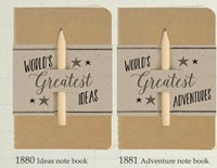 Small Book with Pencil - World's Greatest....