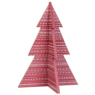 Slot together tree -  Small red