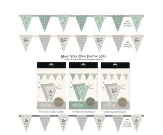 Bunting Kits - wedding and baby arrival