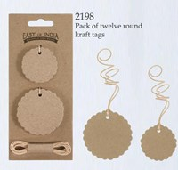 Round Tag Set - Pack 12
