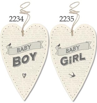 Lost for words tags - Baby boy or Baby girl