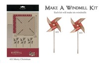 Windmill kit - Merry Christmas