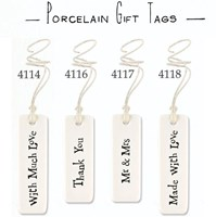 Porcelain Long Tags