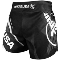 "Hayabusa ""O.G 2.0"" Kickboxing Shorts - Black/Grey"