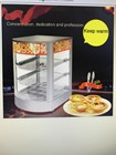 Display Warmer Food Warmer Heat Preservation Showcase Tall
