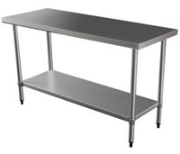 Table 3ft / 90cm s/s bench table