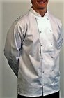 Chef Jacket Long sleeved White J20