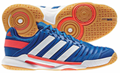 Adidas AdiPower Stabil 10.1 Men's Court Shoes  Royal/White/Red