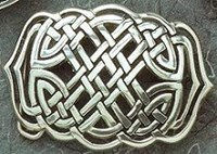 BU28 - Celtic Knot Belt Buckle