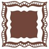 Couture Creations Vintage Rose Collections Dies - Postale Squares Set 2 (100x100mm, 77mmx77mm) FREE SHIPPING