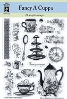 Fancy a Cuppa Clear Stamps Great for Scrapbooking & Cardmaking