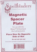 "Spellbinders 5""x7"" Magnetic Spacer Plate FREE SHIPPING"