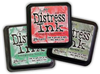 Tim Holtz Distress Ink Limited Edition Seasonal Series 3 Pads Winter 2011