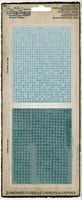 Sizzix Tim Holtz Texture Fades Dot Matrix & Gridlock Set of 2 Folders 656649