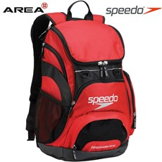 SPEEDO BACKPACK SWIMMING BAG - FORMULA ONE RED