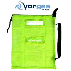 VORGEE Mesh Swim Equipment Bag Fluro Green