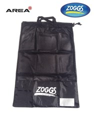 ZOGGS MESH SWIM BAG BLACK