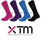 XTM Thermal Heater Merino Blend Ski Socks (2 pair/pk) YOUTH, TEEN & ADULT SIZES