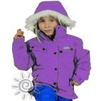 XTM Mika Girls Waterproof Ski Snowboard Jacket (Purple) **CLEARANCE** Size 6