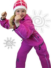 OKco Baby, Tots & Kids One Piece Ski / Snow Suit (Candy Pink) Size 8 only