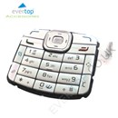 Original Nokia N70 Replacement Keypad Buttons - Silver