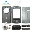 BLACK Nokia N95 Mobile Phone Fascia Cover Full Housing Set with FREE keypad