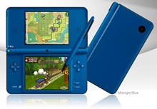 Refurbished As New Nintendo DSi Game Console in Metallic Blue Colour