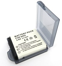 Replacement Panasonic CGA-S005E Battery for Lumix DMC LX3, FX150, FX180, FX50, Digital Camera's - DMW-BCC12