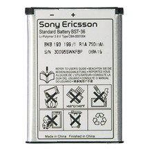 Sony Ericsson BST-36 Battery for W350i / W200 / K510 / T280i / Original / BST36