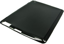 Apple iPAD 2 Protective TPU Skin Case / Premium Quality / Black